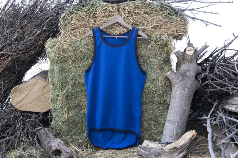 ShearingTShirts tirantes azul faldón